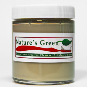 nature's green tooth powder